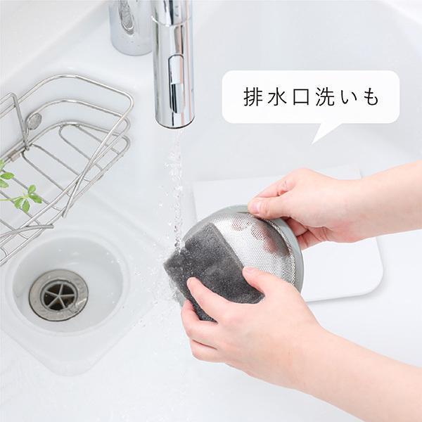 キッチンスポンジ ソフト 泡立ちタイプ 30枚入 食器洗いスポンジ 食器用スポンジ ソフトスポンジ ナイロン|kainan-zakka|07
