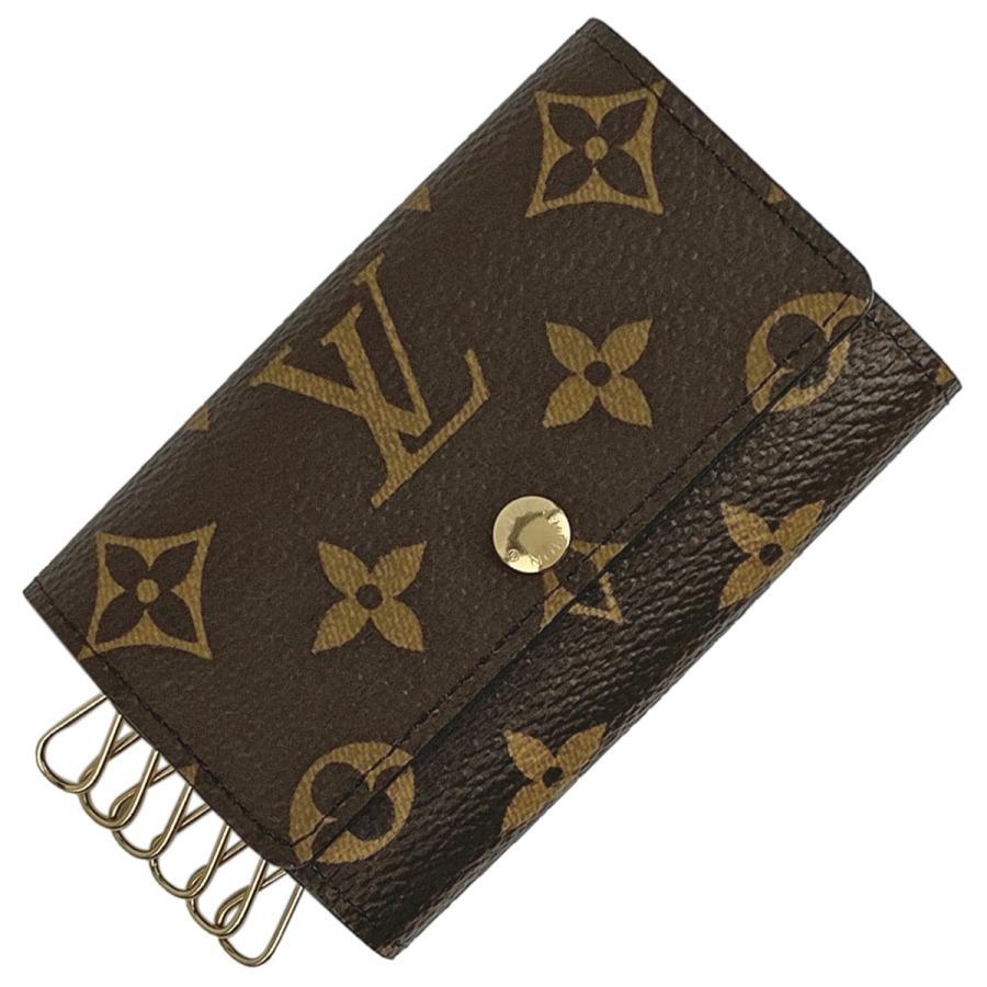 独特の上品 ルイ・ヴィトン Louis Vuitton ミュルティクレ 6 キーホルダー キーフック キーケース モノグラム ブラウン レディース 【】, 日本通販本舗 コミコミ支店 ccb32e25