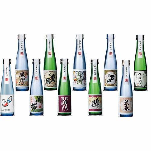 日本酒 飲み比べセット ふくしま美酒めぐり 桐箱10本入セット 180ml×10本 0055163 kaiseiya 06