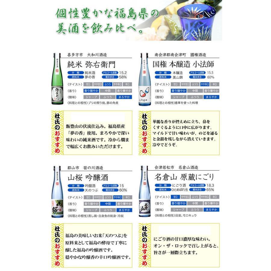 日本酒 飲み比べセット ふくしま美酒めぐり 化粧箱入り5本セット 180ml×5本 0055160 kaiseiya 02