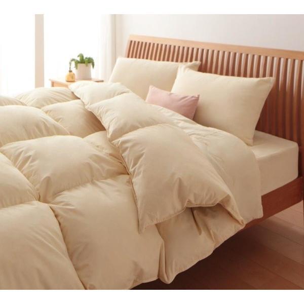 布団セット ベッド用10点 ダブル 色-アイボリー /シンサレート高機能中綿素材入り 抗菌防臭 暖かい 洗える