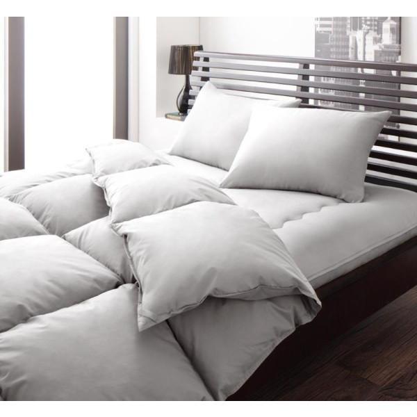 布団セット 和タイプ8点(プレミアム敷布団の厚さ15cmタイプ) セミダブル 色-シルバーアッシュ /シンサレート高機能中綿素材入り 暖かい
