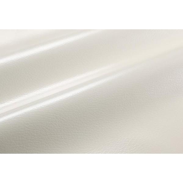 キッチンマット 120×180cm 色-アイボリー /本革風 国産 日本製 撥水 防汚 水拭き可能 フリーカット 床暖房対応
