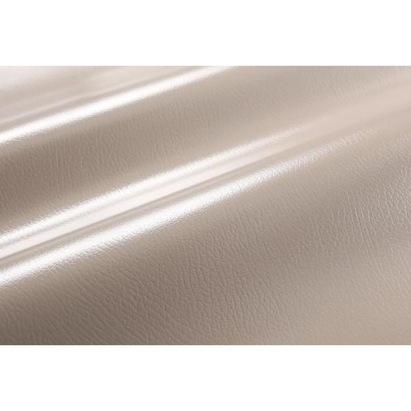 テーブルマット 45×120cm 色-グレイッシュブラウン /本革風 国産 日本製 撥水 防汚 水拭き可能 フリーカット 床暖房対応
