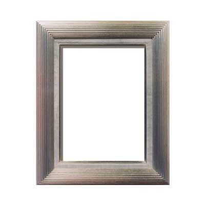 油額 銀 F6号 ガラス 410×318mm 3002_/sgktb-1430561