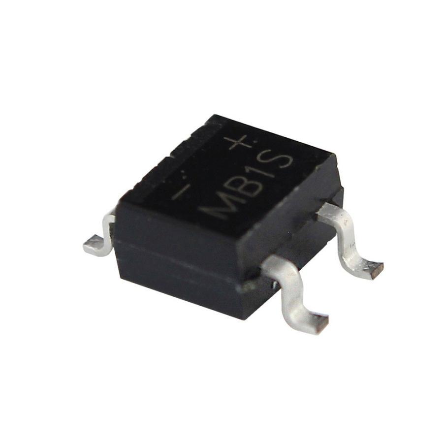 Kaito7717(100個) ブリッジダイオード整流器 MB1S 100V 500mA (SOIC-4)|kaito-shop