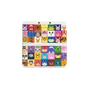 【訳あり】【送料無料】【中古】3DS New ニンテンドー キセカエプレートパック どうぶつの森 本体 任天堂(箱説付き)