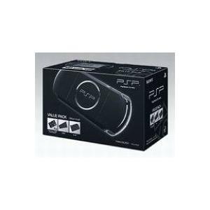 【送料無料】【中古】PSP「プレイステーション・ポータブル」 バリュー・パック ピアノ・ブラック (PSPJ-30008) 3000(箱説付き)