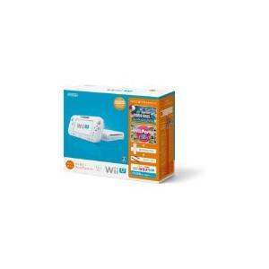 【送料無料】【中古】Wii U すぐに遊べるファミリープレミアムセット(シロ) 白 任天堂 本体(マリオU、パーティーU内蔵)(箱説付き)