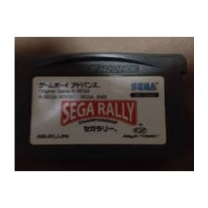 【送料無料】GBA ゲームボーイアドバンス セガラリー (箱説付き)