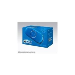 【送料無料】【中古】PSP「プレイステーション・ポータブル」 バリュー・パック バイブランド・ブルー (PSPJ-30011) PSP3000(箱説付き)
