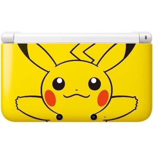 【送料無料】3DS ニンテンドー3DS LL ポケモンセンター限定 ピカチュウ イエロー 本体 任天堂 (箱説付き)