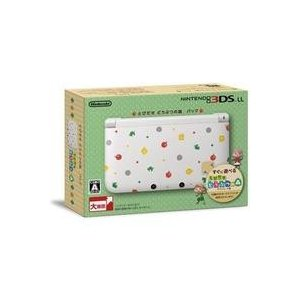 【送料無料】【中古】3DS ニンテンドー LL 本体 とびだせ どうぶつの森パック