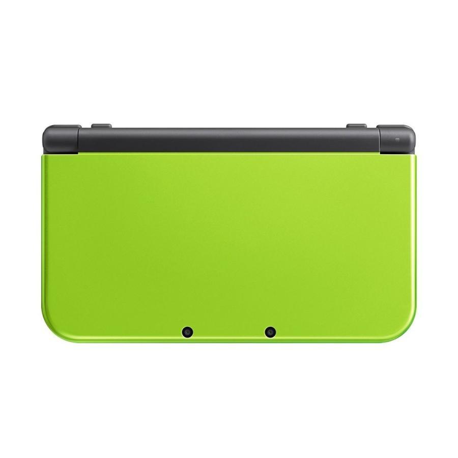 【送料無料】【中古】3DS NEW ニンテンドー 3DS LL ライム×ブラック(箱説付き)