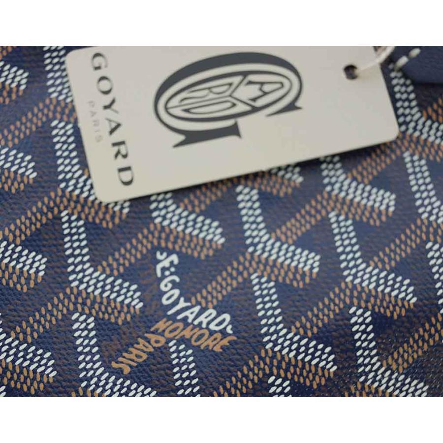 ゴヤール バッグ トートバッグ ポーチ付き サンルイGM ネイビー 定番 ラージサイズ 紙袋付き|kaitsukedoh|07