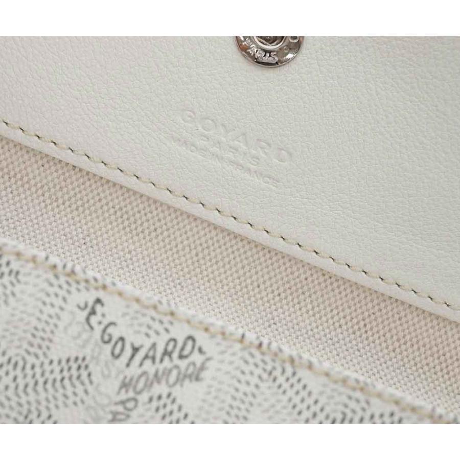 ゴヤール バッグ トートバッグ ポーチ付き サンルイGM ブロン ホワイト 定番 ラージサイズ 紙袋付き  kaitsukedoh 05