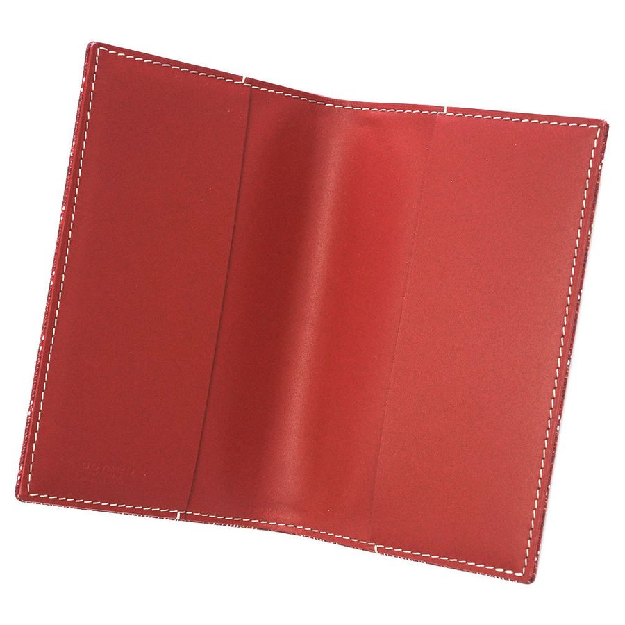 ゴヤール 手帳カバー アドレスブック カバーのみ ルージュ レッド CAMBONPMLTY02 アジェンダ kaitsukedoh 06