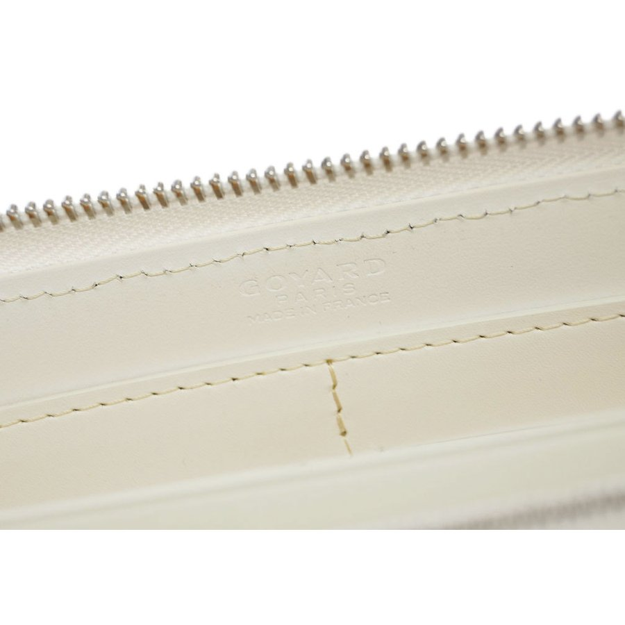 ゴヤール 財布 GOYARD ラウンドファスナー 長財布 ジップGM PORTEFEUILLE MATIGNON 3 GM BLANC ホワイト 50 新型|kaitsukedoh|10