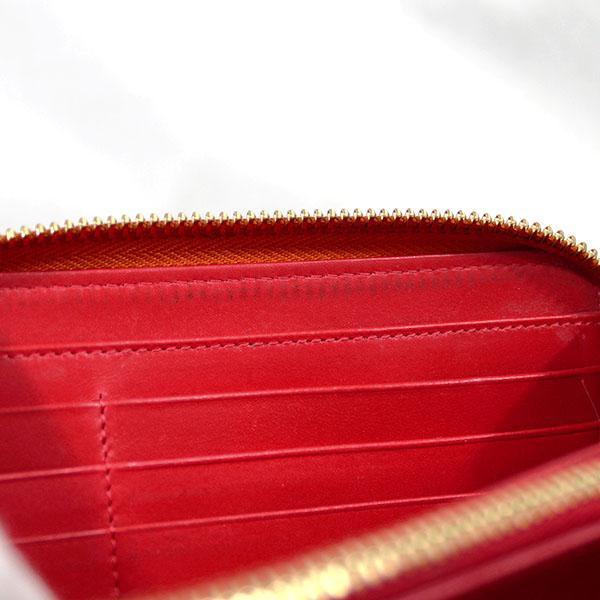 【中古】クリスチャンルブタン 財布 1165065 Christian Louboutin ルブタン 長財布 パネトーネ スタッズ オレンジxゴールド YJ3633|kaitsukedoh|10