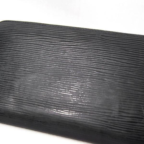 【中古】ルイヴィトン 財布 M60072 LOUIS VUITTON エピ LV ジッピー・ウォレット 旧型 ノワール YJL3423 kaitsukedoh 07