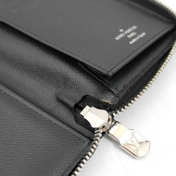 【中古】ルイヴィトン 財布 N63095 LOUIS VUITTON ダミエ・グラフィット LV ジッピーウォレット・ヴェルティカル ブラック YJL3741|kaitsukedoh|08