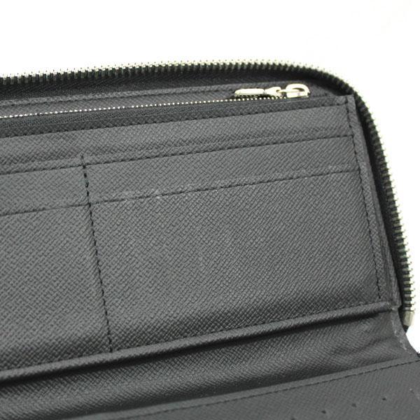 【中古】ルイヴィトン 財布 N63095 LOUIS VUITTON ダミエ・グラフィット LV ジッピーウォレット・ヴェルティカル ブラック YJL3741|kaitsukedoh|09