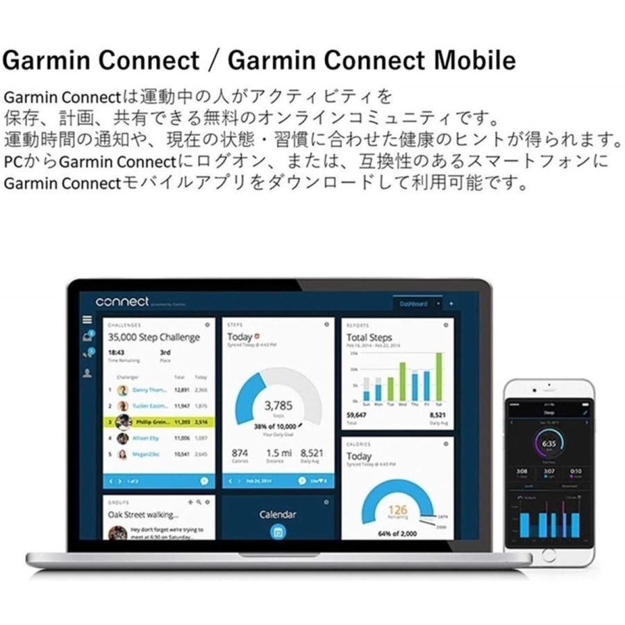 GARMIN(ガーミン) 腕時計 スマートウォッチ vivomove Luxe Navy Leather / Silver ユニセックス 0