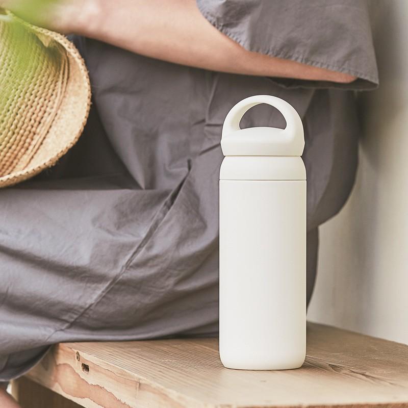 タンブラー KINTO デイオフタンブラー 500ml 蓋付き おしゃれ 保温 保冷 水筒 ステンレス キントー タンブラー 直飲み 持ち運び kajitano 02