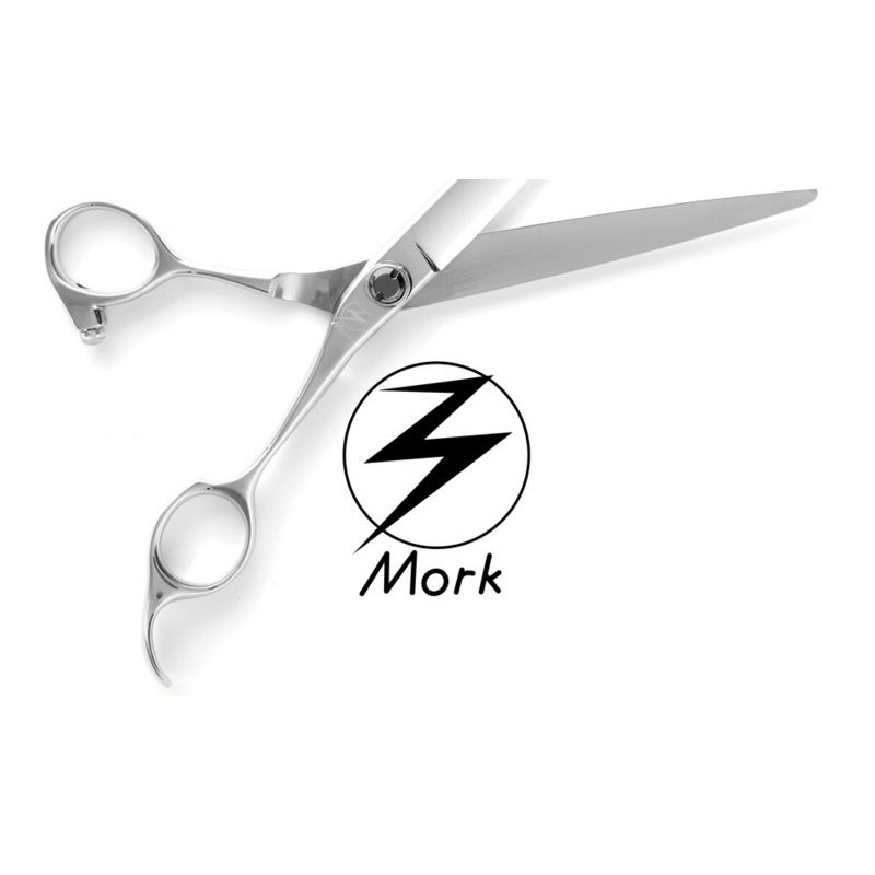 Mork(モルク)BW-65 ハイブリッド シザー 全長178mmプロペラ刃 理美容鋏 プロ仕様のさんぱつ鋏 カットはさみ