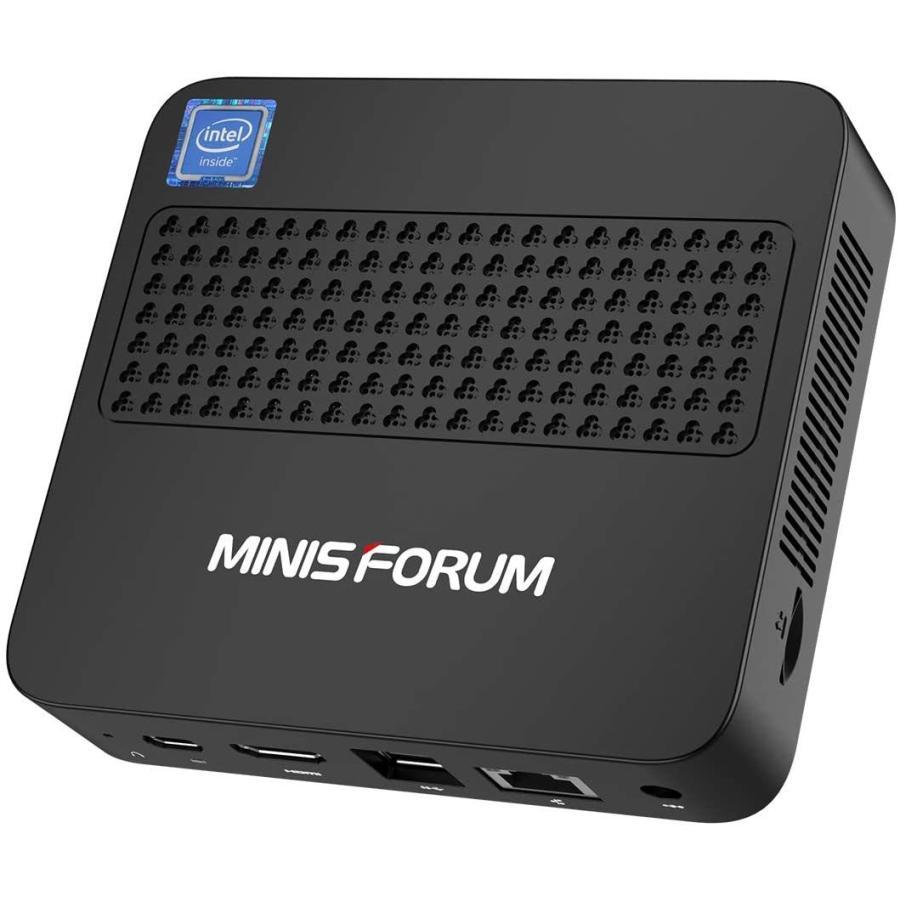 MINISFORUM U800ミニPC Windows 10 Pro 小型パソコン インテルCore i3-8145U(最大3.90GHz)DDR4