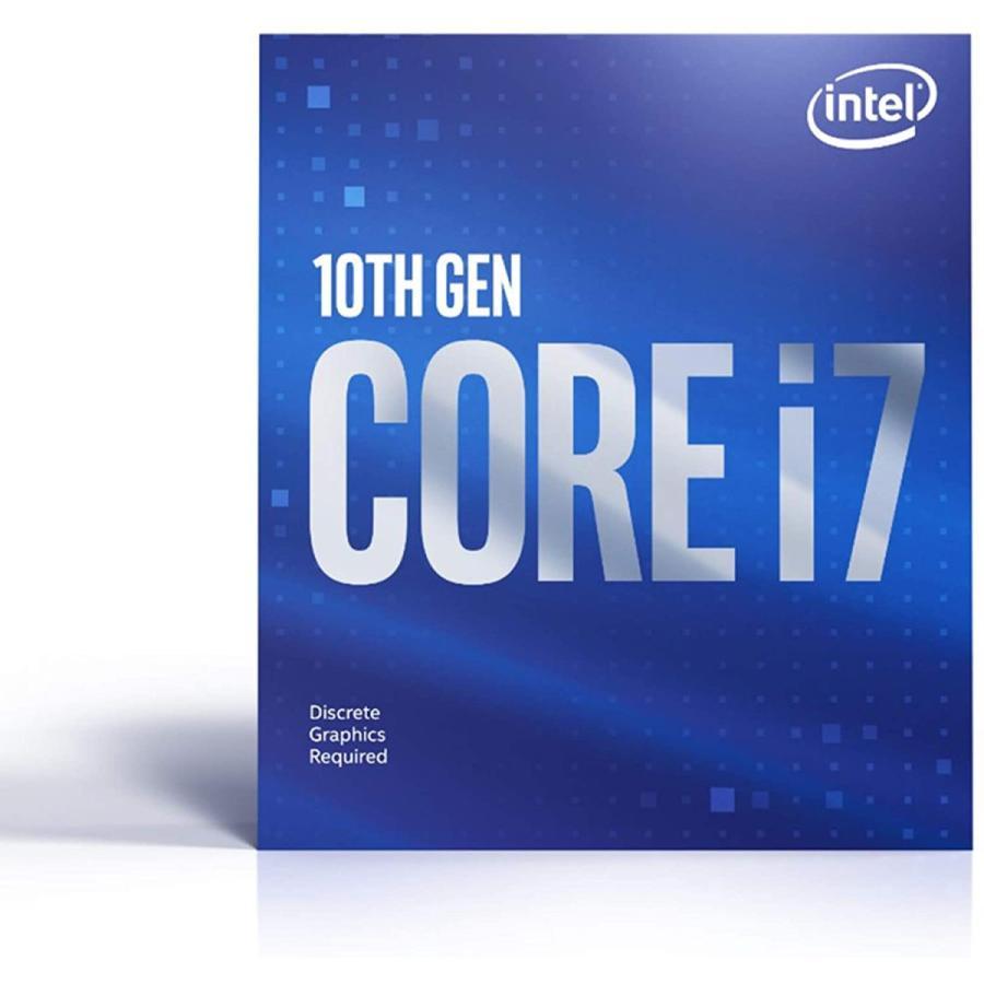 INTEL CPU Core i7-10700F 2.9 GHz 8コア LGA 1200プロセッサー BX8070110700F 【 BOX 】 日