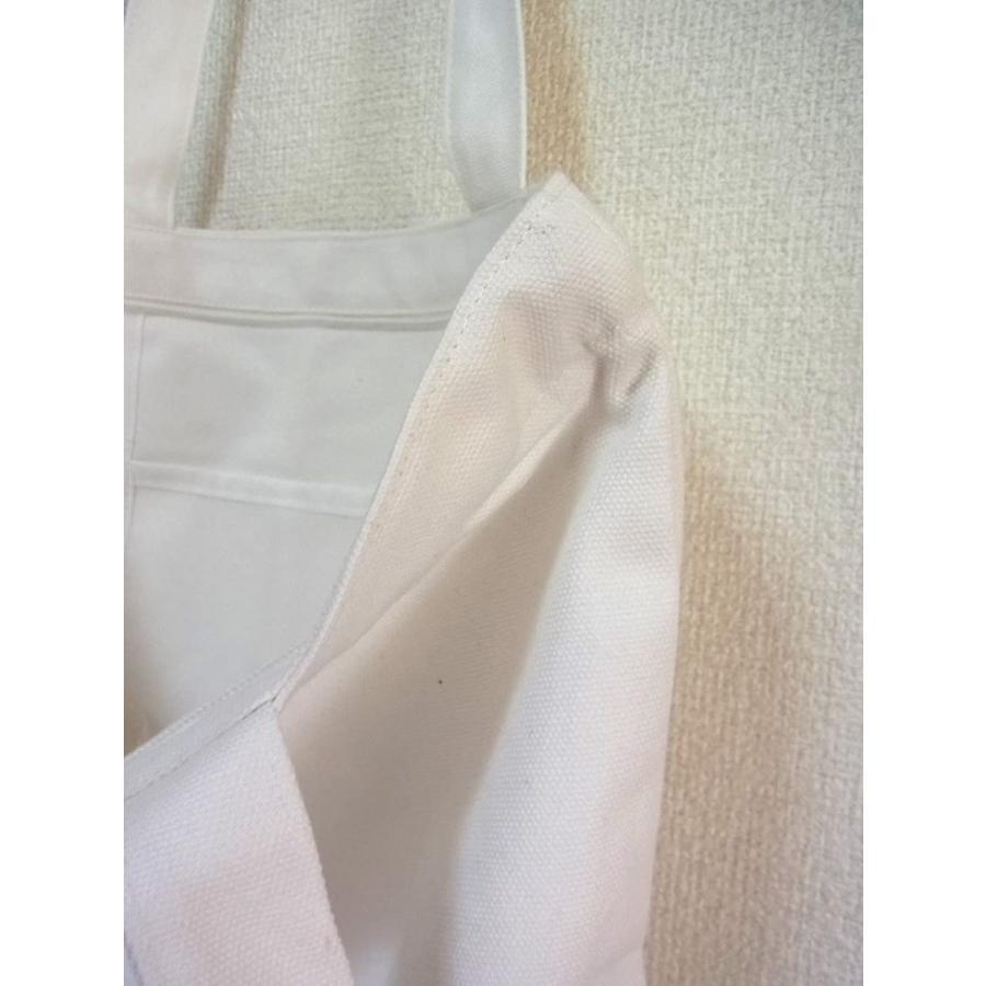 peco キャンバス 無地 シンプル トートバッグ (白ファスナーポケット付)|kakastore|07