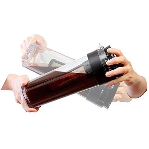 耐熱 冷水筒 水出し専用 コーヒージャグ 1.1L ブラック|kakastore|05