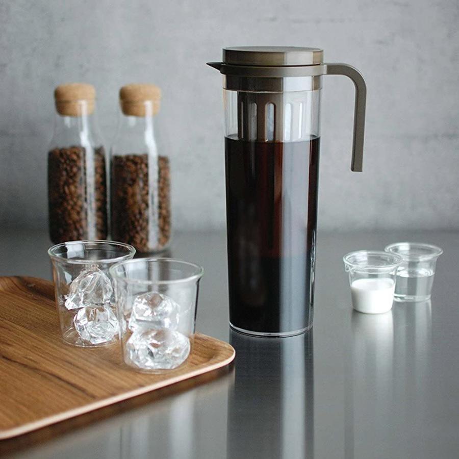 KINTO (キントー) PLUG アイスコーヒージャグ 1.2L ブラウン 22484 kakastore 06
