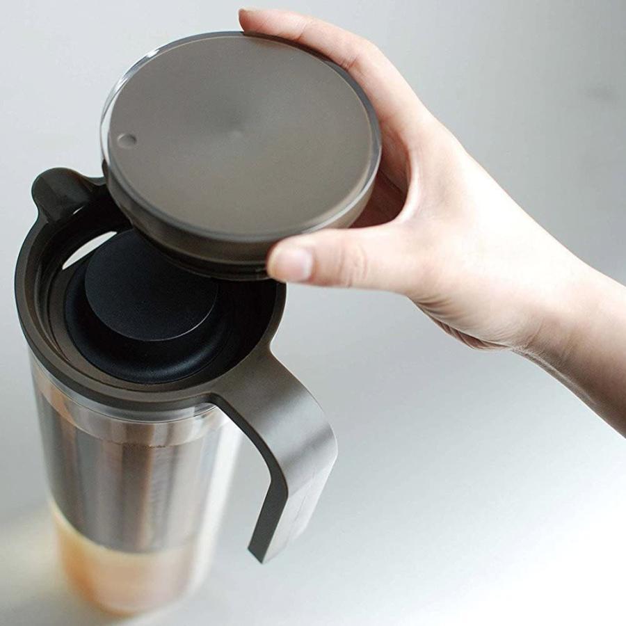 KINTO (キントー) PLUG アイスコーヒージャグ 1.2L ブラウン 22484 kakastore 09