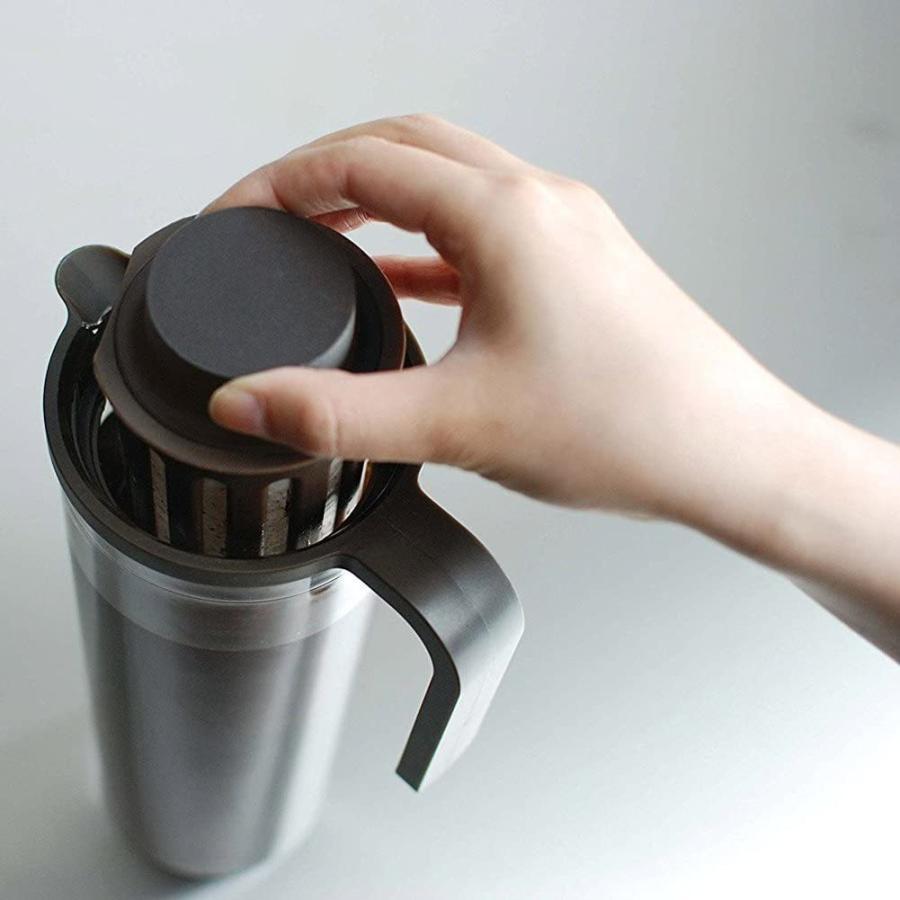 KINTO (キントー) PLUG アイスコーヒージャグ 1.2L ブラウン 22484 kakastore 10