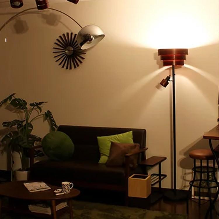 レビューを書けば送料当店負担 スタンドライト 2灯 一部予約 照明 間接照明 スタンド照明 フロアライト フロアランプ フロアスタンド アッパー 寝室 レダ おしゃれ リビング BBF-002 ダイニング