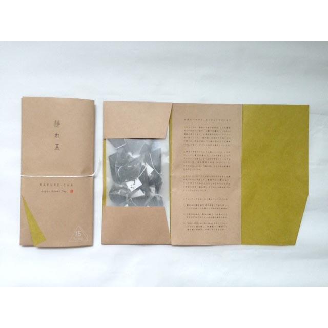 隠れ茶ティーバッグ 2.5g×15P入り|kakurecha|02
