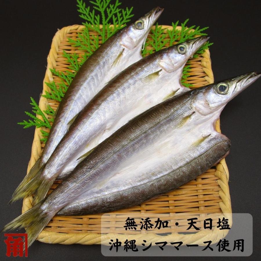 干物 全品最安値に挑戦 冷凍 至高 無添加 国産魚 伊勢志摩 かますの開き3〜4枚入