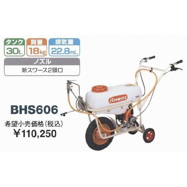 共立 一輪動噴 BHS606 農業機械 中古農機具