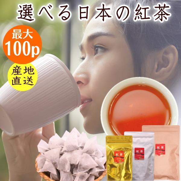 日本の紅茶 最安値 グレードで選べる和紅茶ティーバッグ 最大100個 静岡産 1000円ポッキリ ティーパック 期間限定お試し価格 送料無料 アイスティーでもホットでも