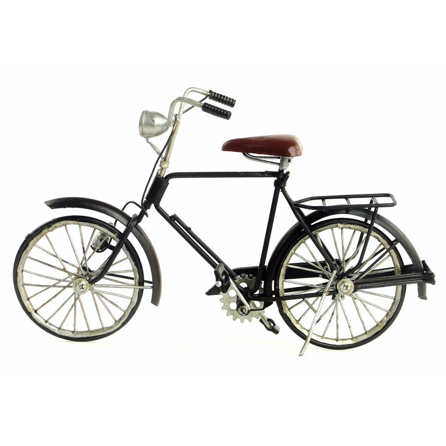 Guofang bike バイク インテリアオブジェ アンティーク 置物 ブリキ製 クラシックカー バス レトロ (全て手作り)