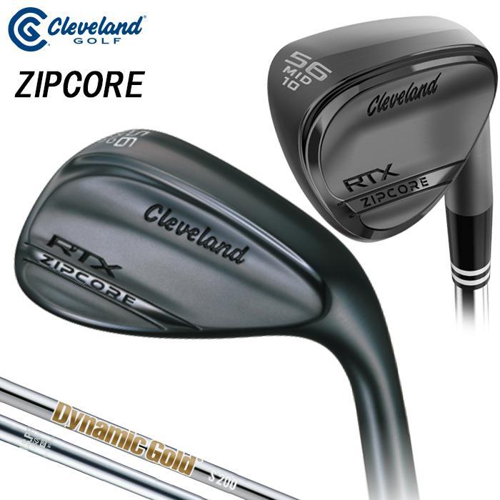 売り込み テレビで話題 クリーブランド RTX ZIPCORE ジップコアウェッジ ブラックサテン ゴルフウェッジ N.S.PRO950GH スチールシャフト ダイナミックゴールド