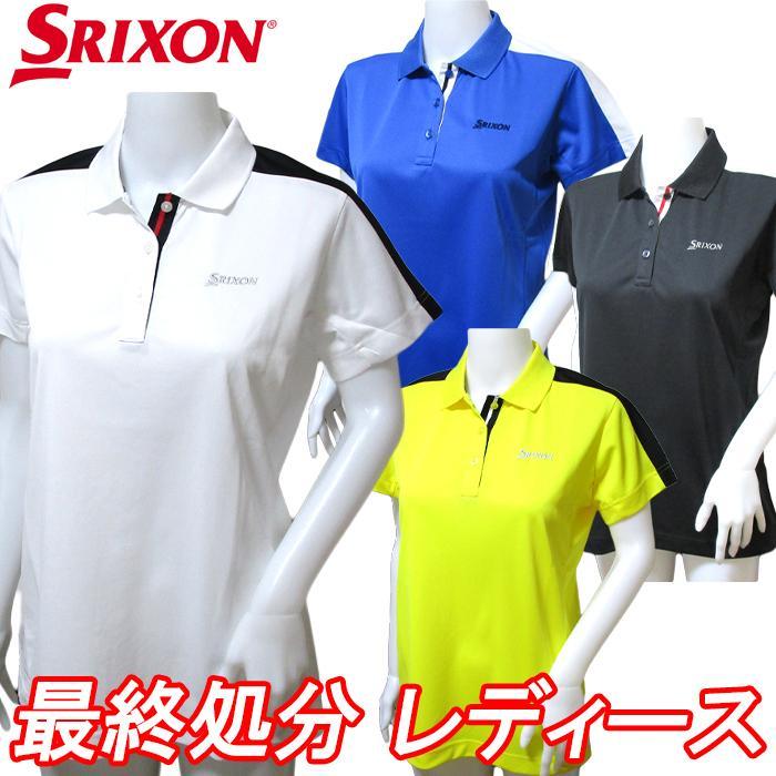 直送商品 9165002M スリクソン レディース 半袖 卓越 ゴルフウェア ポロシャツ レディースウェア