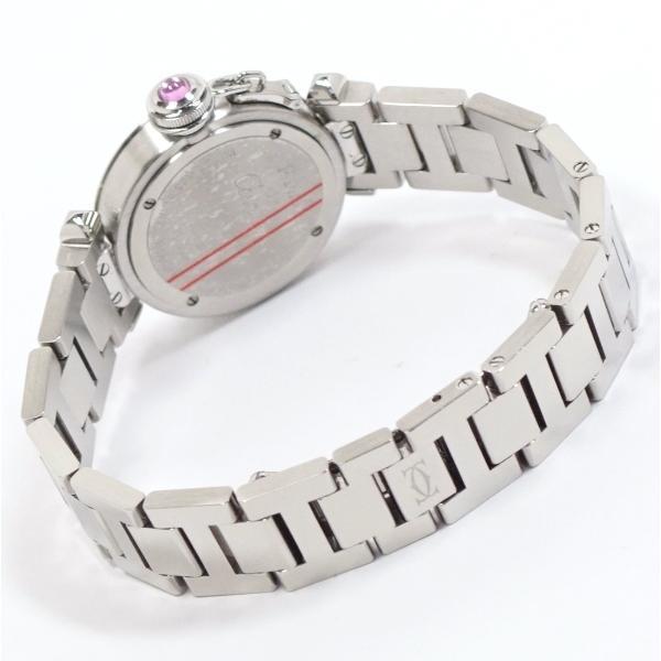 Cartier カルティエ ミスパシャ SS レディース ピンク W314008 中古美品|kaleid|03