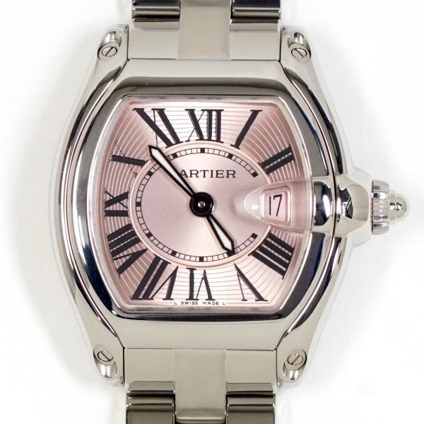 第一ネット Cartier ロードスター カルティエ ロードスター SM Cartier ピンク ピンク レディース 美品, ロングライフストア:5b555d1a --- airmodconsu.dominiotemporario.com