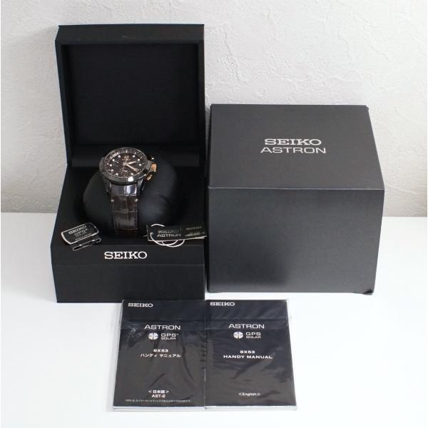 SEIKO セイコー アストロン SBXB083 GPS電波ソーラー 1500本限定 メンズ 中古美品 kaleid 06