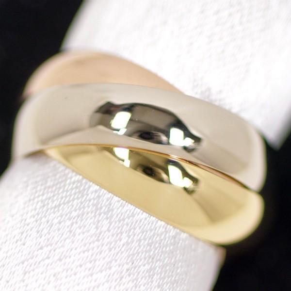 最愛 Cartier カルティエ 750 トリニティ リング 750 リング トリニティ サイズ54(約14号) 幅広, ミスウェディー:b474926d --- airmodconsu.dominiotemporario.com
