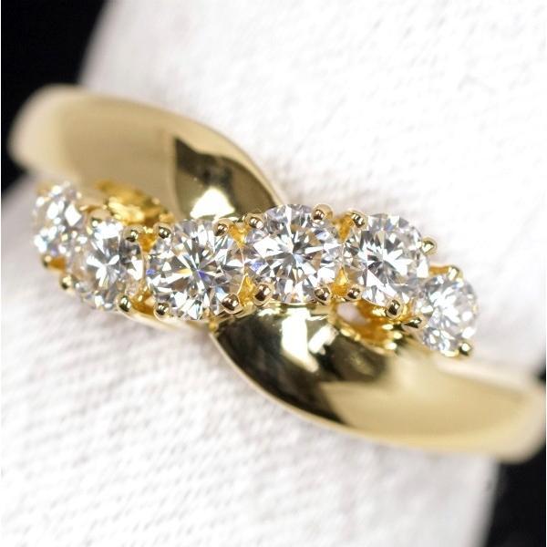 超格安価格 MIKIMOTO ミキモト ダイヤモンド0.46ct K18 リング, アリダグン 6225a2cb