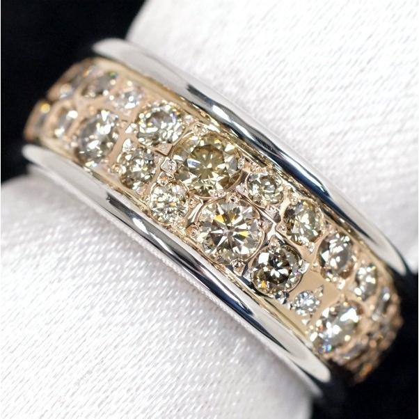 驚きの値段 BROWN DIAMOND カシケイ カシケイ ブラウンダイヤモンド DIAMOND 0.85ct メランジェ メランジェ リング K18PG/WG, Rocobi:c439f7d3 --- airmodconsu.dominiotemporario.com